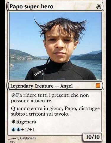 Papo carta Magic
